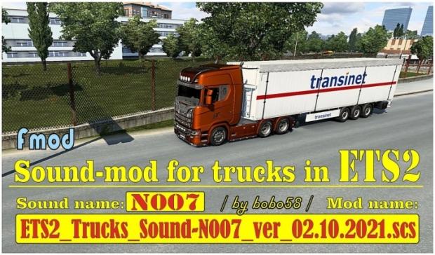 ATS - Trucks Sound-N007 Version 02.10.2021 (1.42.x)