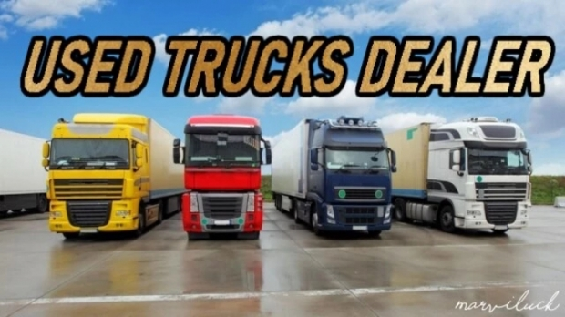 ETS2 - Used Trucks Dealer V1.5.7 (1.42.x)