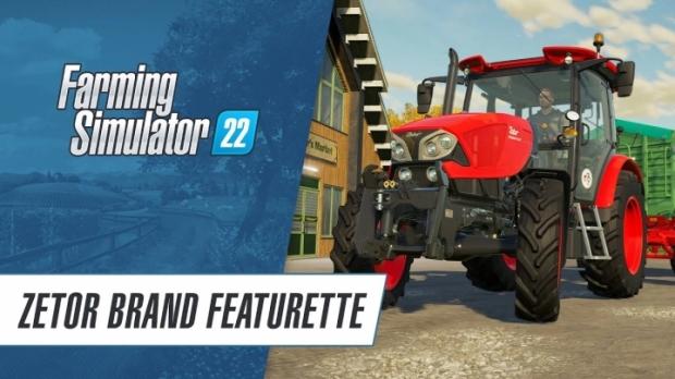 FS22 - Welcome Zetor (Brand Featurette)