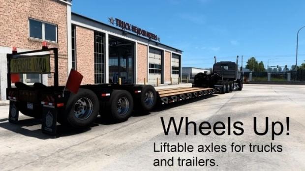 ATS - Wheels Up V1.02 (1.41.x)
