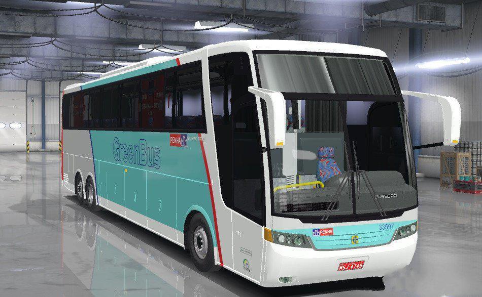 ETS2 - Vissta Buss HI & Jumbuss 360 (1.36.x)