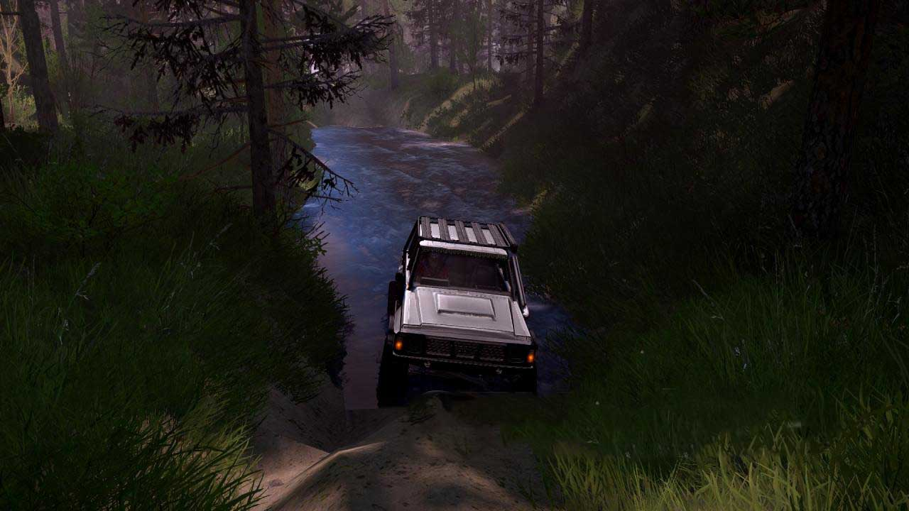 Spintires:Mudrunner - Hilz Map V1.0
