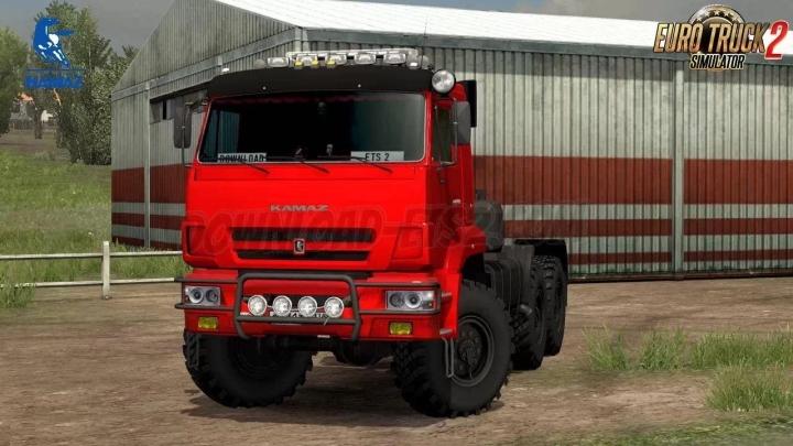 ETS2 - Kamaz 65221 Truck (1.39.x)