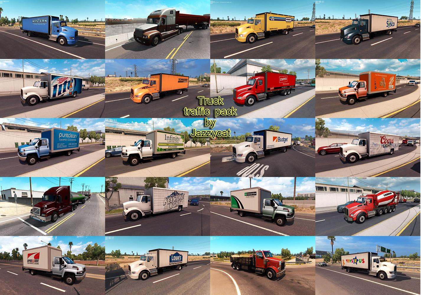 ATS - Truck Traffic Pack V2.5 (1.35.X)