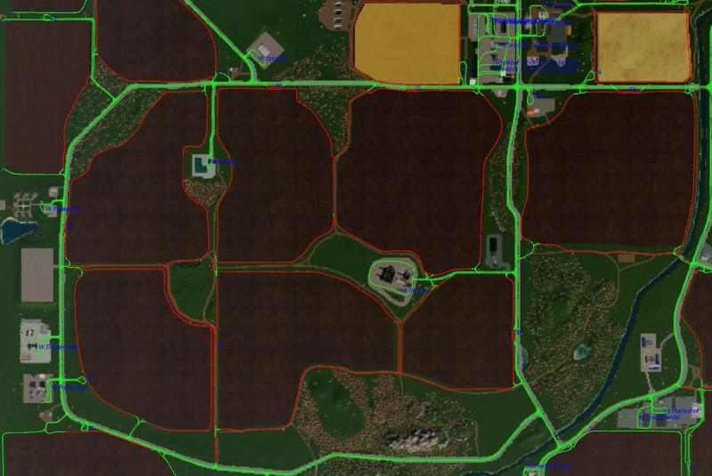 FS19 - AutoDrive Courses for Multimap2019 V2.2.2