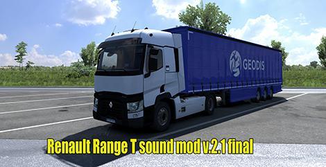 ETS2 - Renault Range T Sound 2.1 Final (1.35.x)
