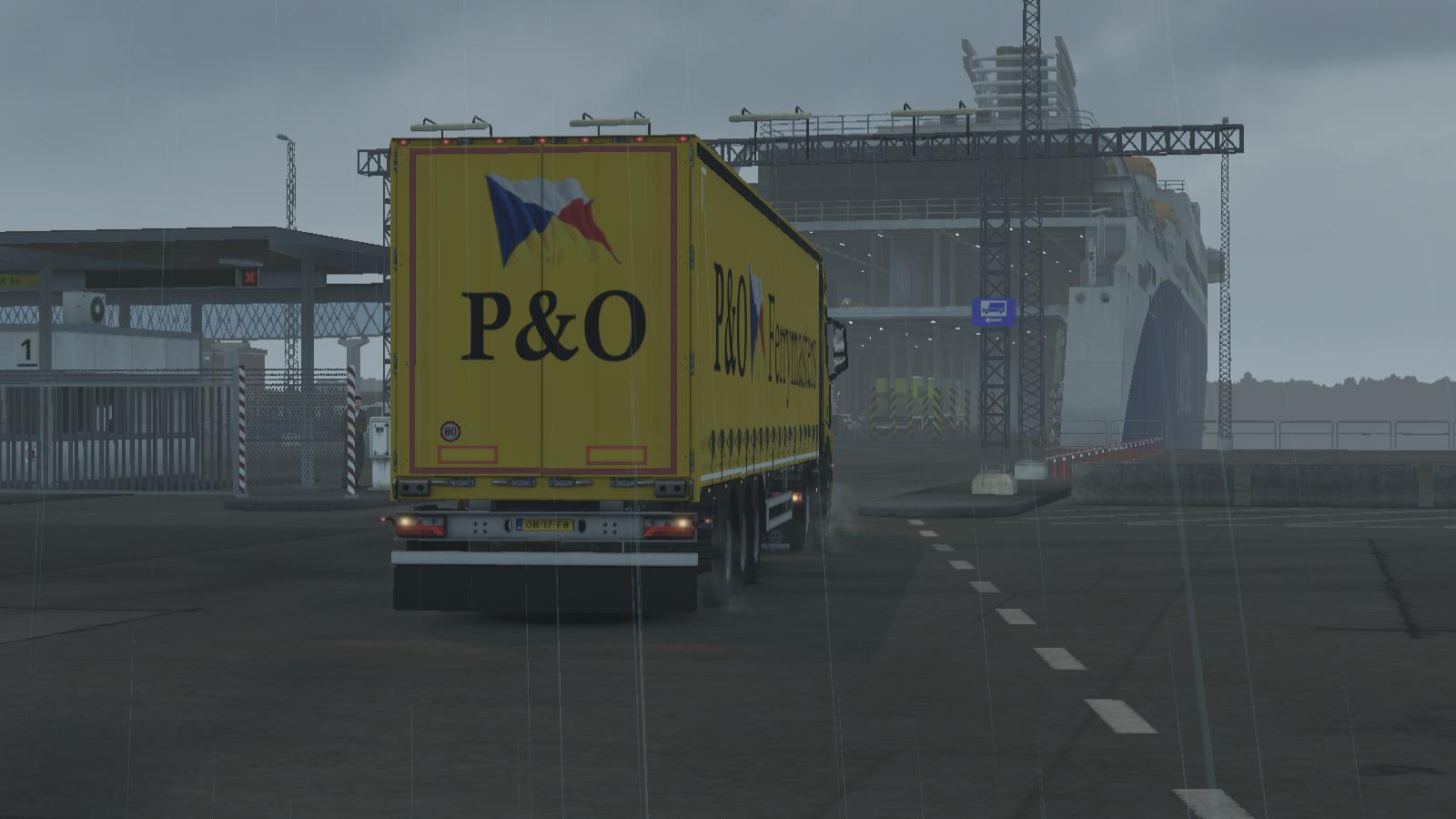 ETS2 - P&O Ferrymasters (1.35.X)