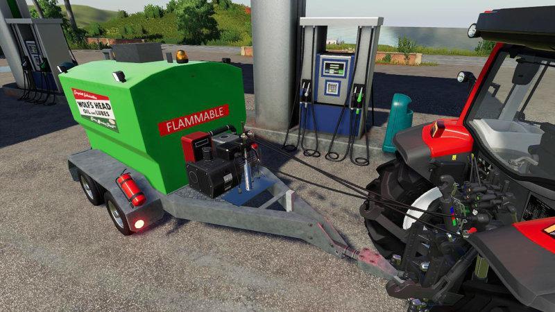 FS19 - Refillable Fuel Trailer V1.0