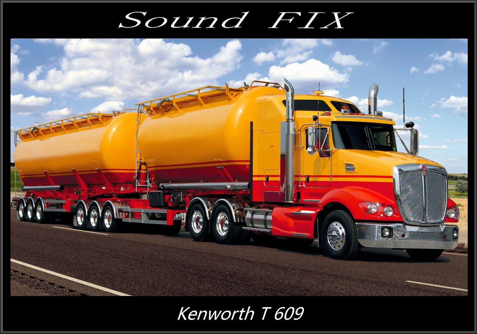 ATS - Kenworth T609 Sound Fix Mod V1.1 (1.38.x)