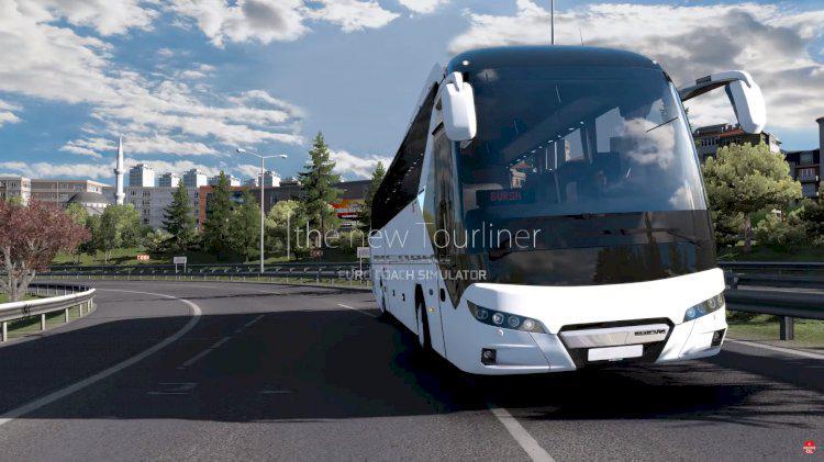 ETS2 - New Neoplan Tourliner 2020 Bus (1.38.x)
