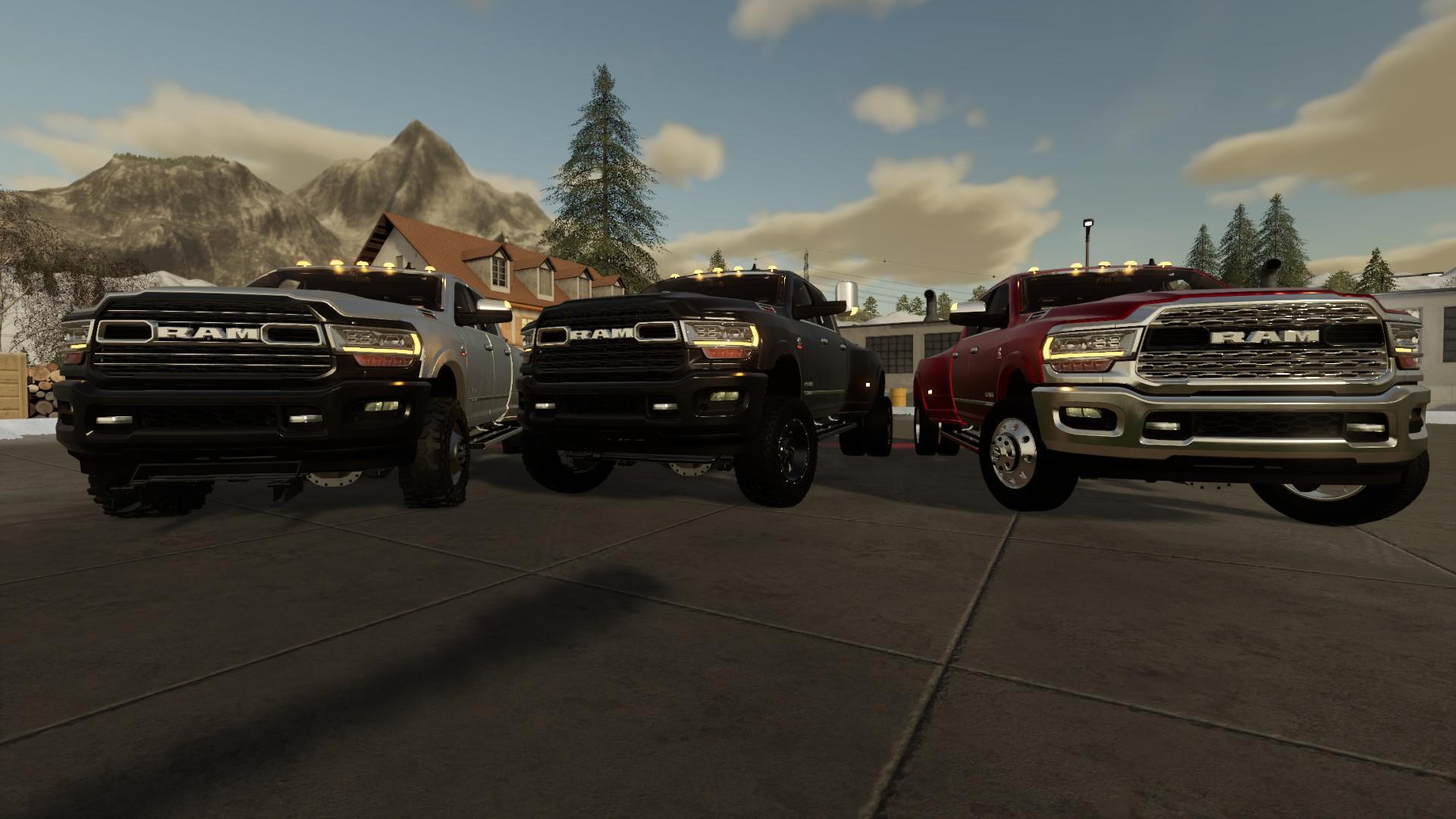 FS19 - 2019 Dodge Ram 3500 V1.0