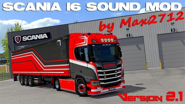 ETS2 - Scania NextGen I6 Sound Mod (1.39.x)