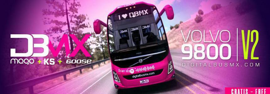 ATS - Volvo 9800 Basico Bus Mod V2.1 (1.36.x)
