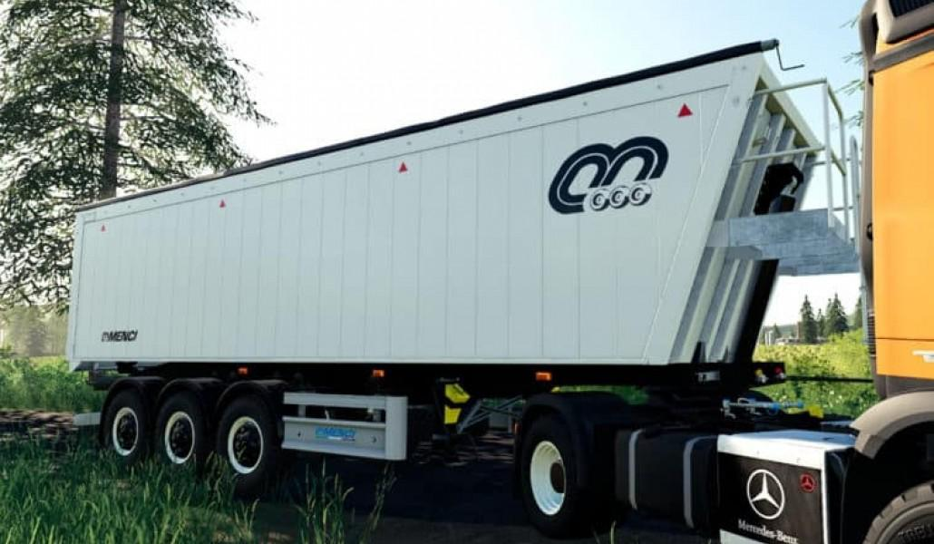 FS19 - Menci (Semi-Trailer – 49,000 Liters) V1.0