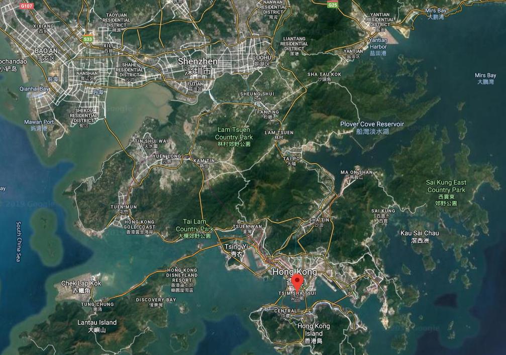 Transport Fever 2 - Hong Kong and Shenzhen