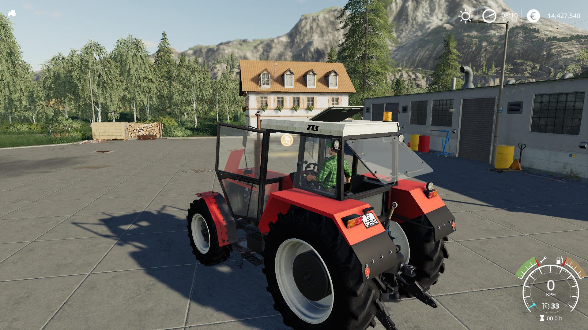FS19 - Zetor ZTS 16245 Tractor V1.0