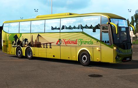 ETS2 - SKS E138i Bus Updated (1.37.x)