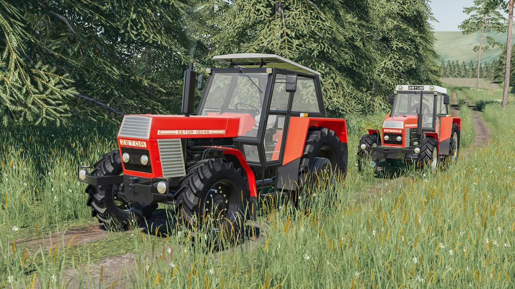 FS19 - Zetor 12045-12145 Tractor V1.0