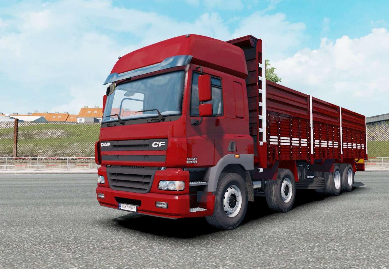 ETS2 - DAF CF 8x4 Truck (1.35.X)