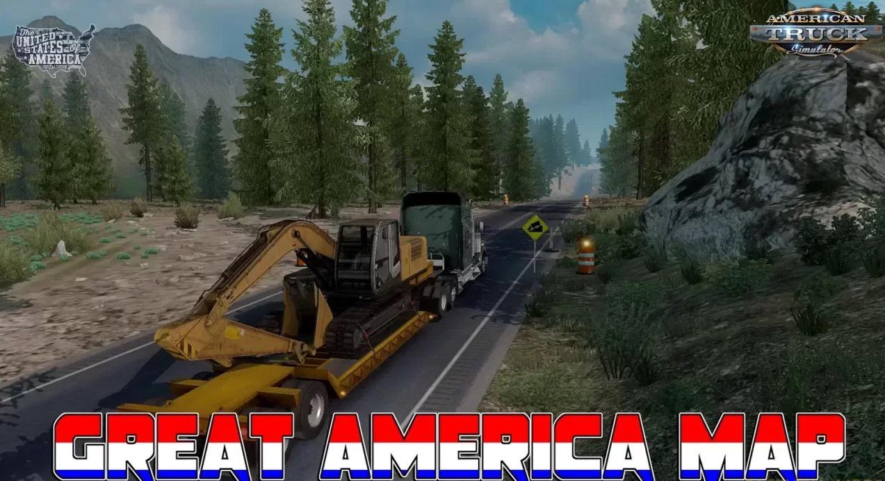 ATS - Great America Map V1.1 (1.36.x)