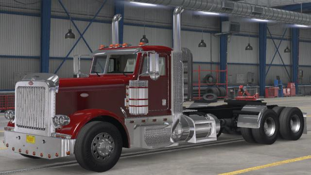 ATS - Peterbilt 389 Long Chassis Day Cab 625 W900 Cat Engine V1.0 (1.38.x)
