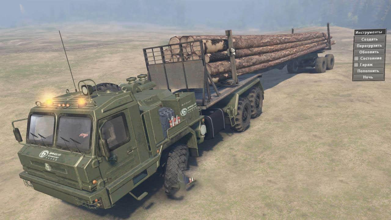 Spintires - Baz 64022 Truck V1.1