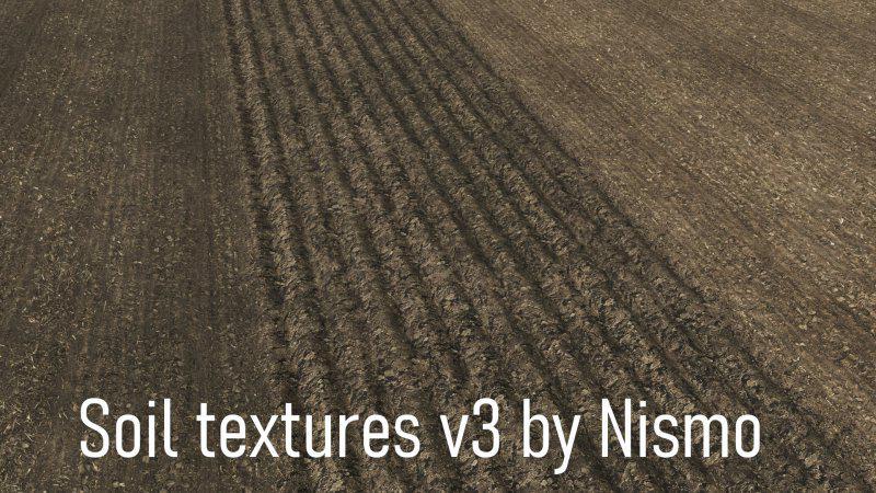 FS19 - Soil Textures V3.0