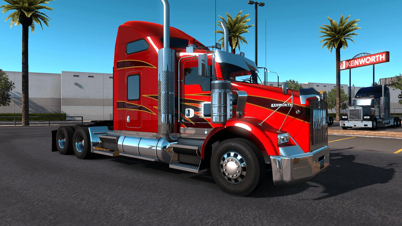 ATS - Kenworth T800 2016 Truck V1.1 (1.36.x)