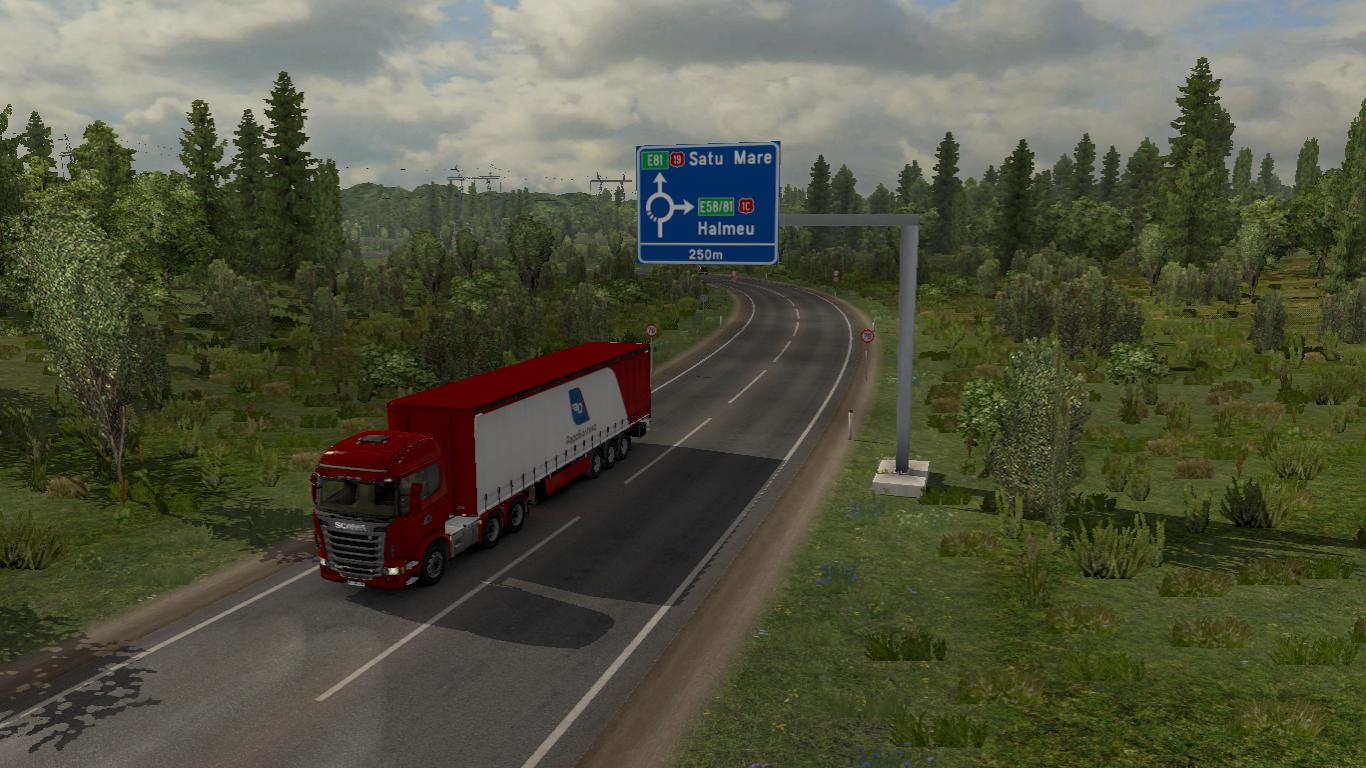ETS2 - Romania Reworked V1.2 (1.36.x)