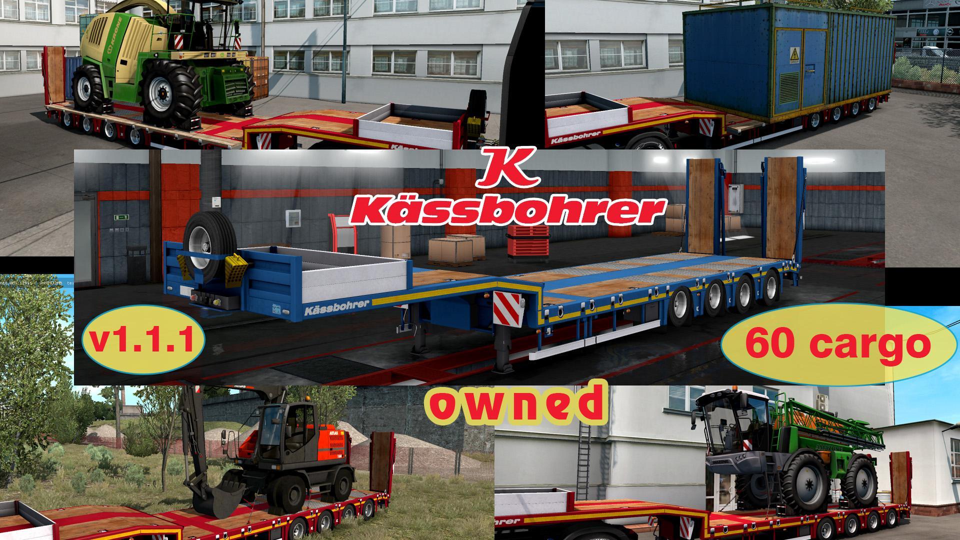 ATS - Compatibility Addon for Kassbohrer LB4E Trailer V1.0 (1.36.x)