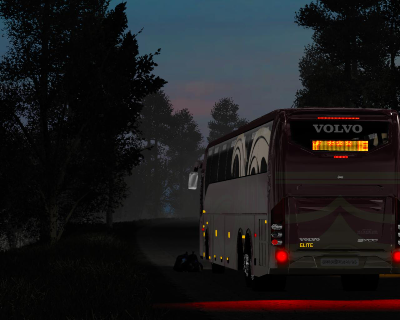 ETS2 - Volvo B9R I-Shift Multiaxle V1.0 (1.39.x)
