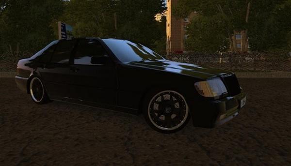 City Car Driving 1.5.9 - Mercedes-Benz S600 W140 Brabus
