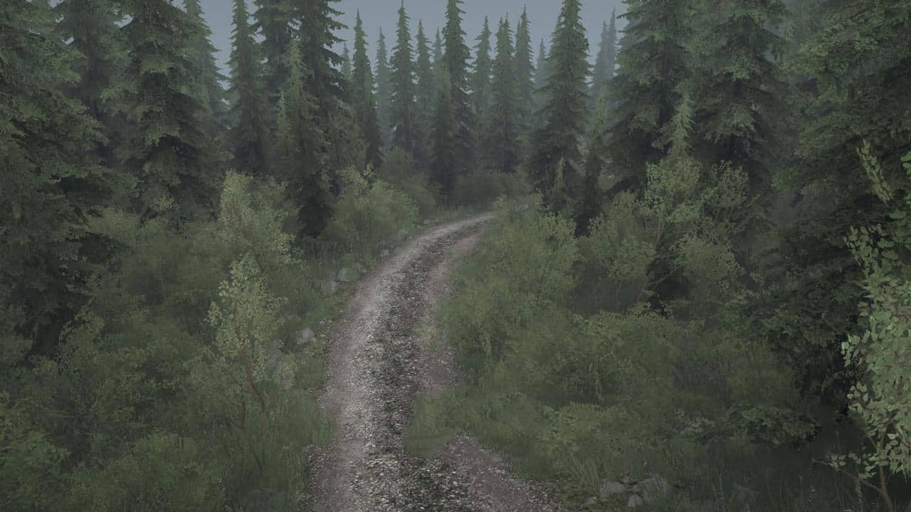 Spintires:Mudrunner - Montain Mud 2 Map V09.01.20