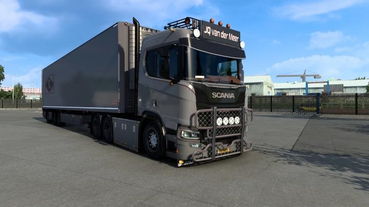 ETS2 - Scania JQ Van Der Meer (1.40.x)