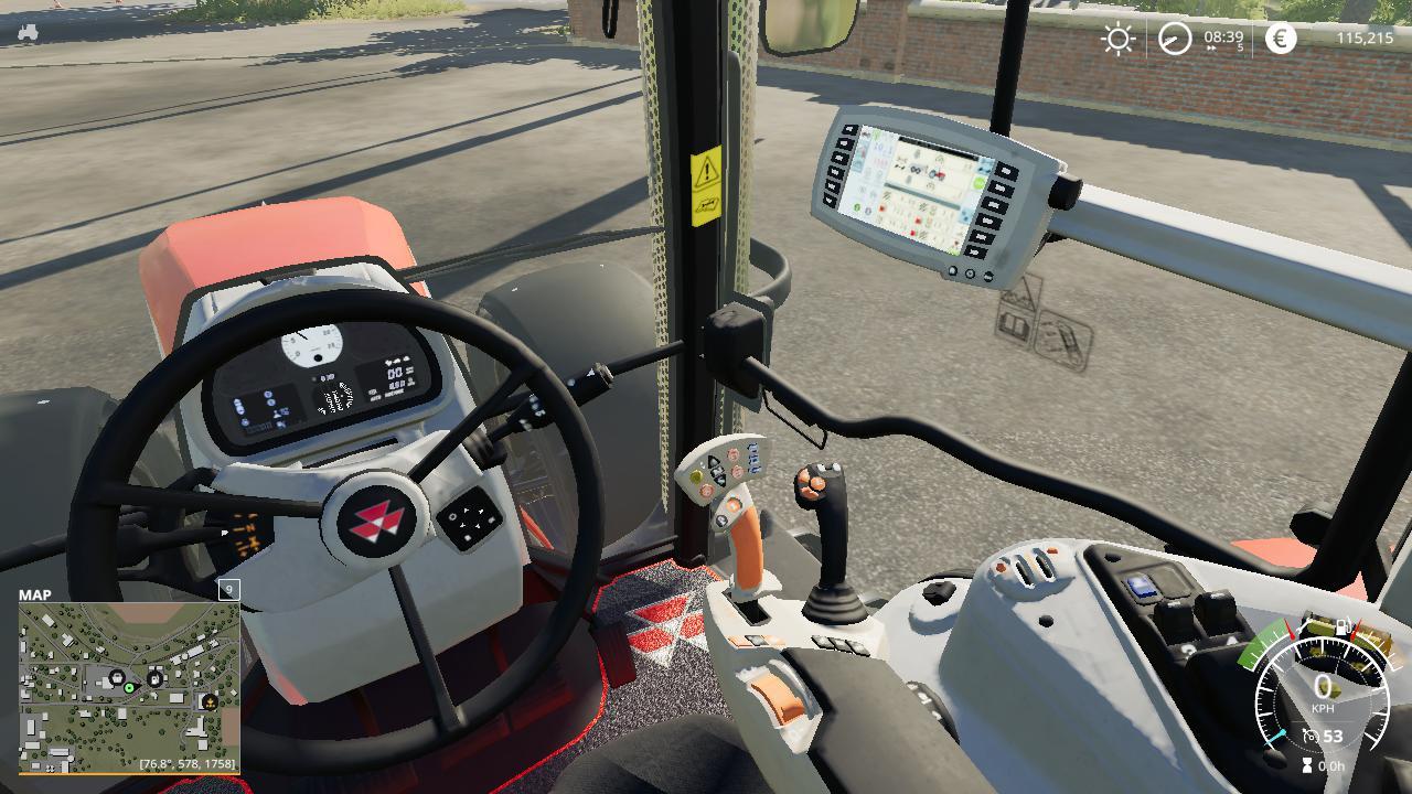 FS19 - Massey Ferguson 7700 Tractor V1.0