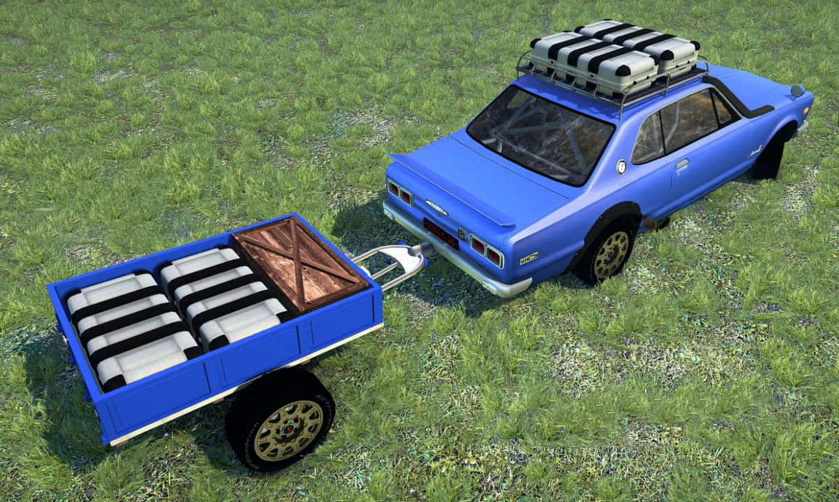 Spintires:Mudrunner - Nissan 2000 GT-R Car Mod V2.0