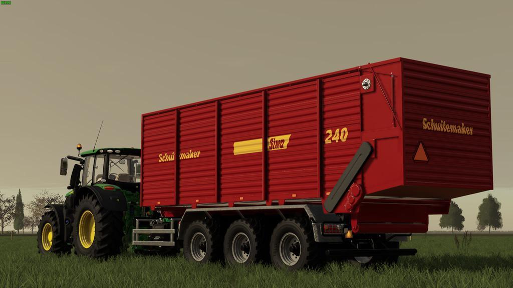 FS19 - Schuitemaker Siwa 240 Hooklift Silage Container V1.0