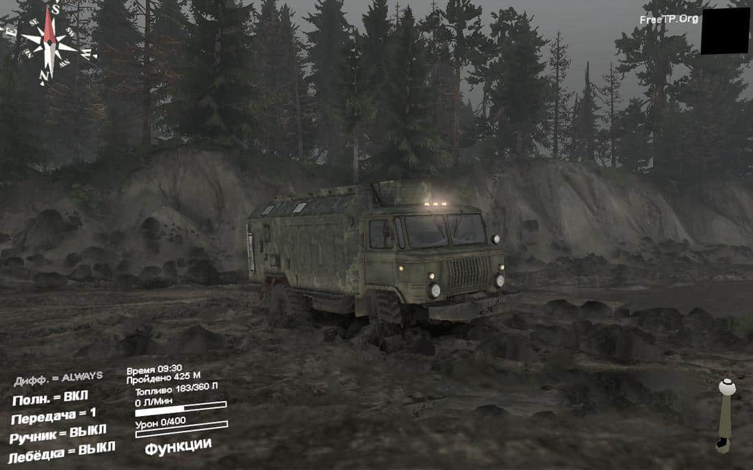 Spintires - Cloudy Weather V0.1
