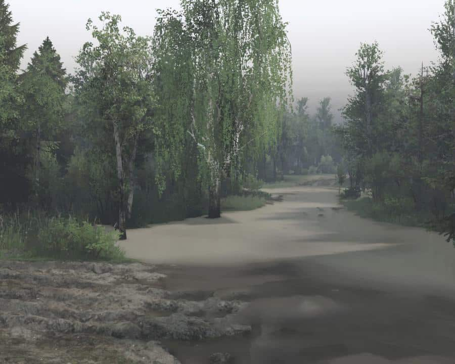 Spintires - Flooded Territory Map V1.0