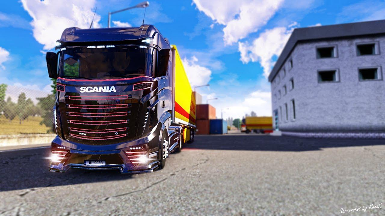 ETS2 - Scania R1000 Truck (1.36.x)