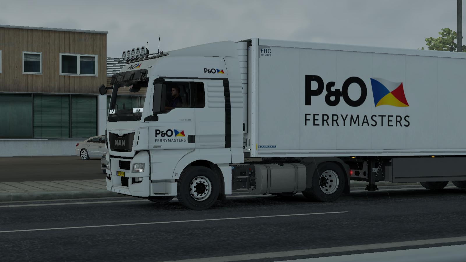 ETS2 - P&O Ferrymasters Cooliner (1.35.X)