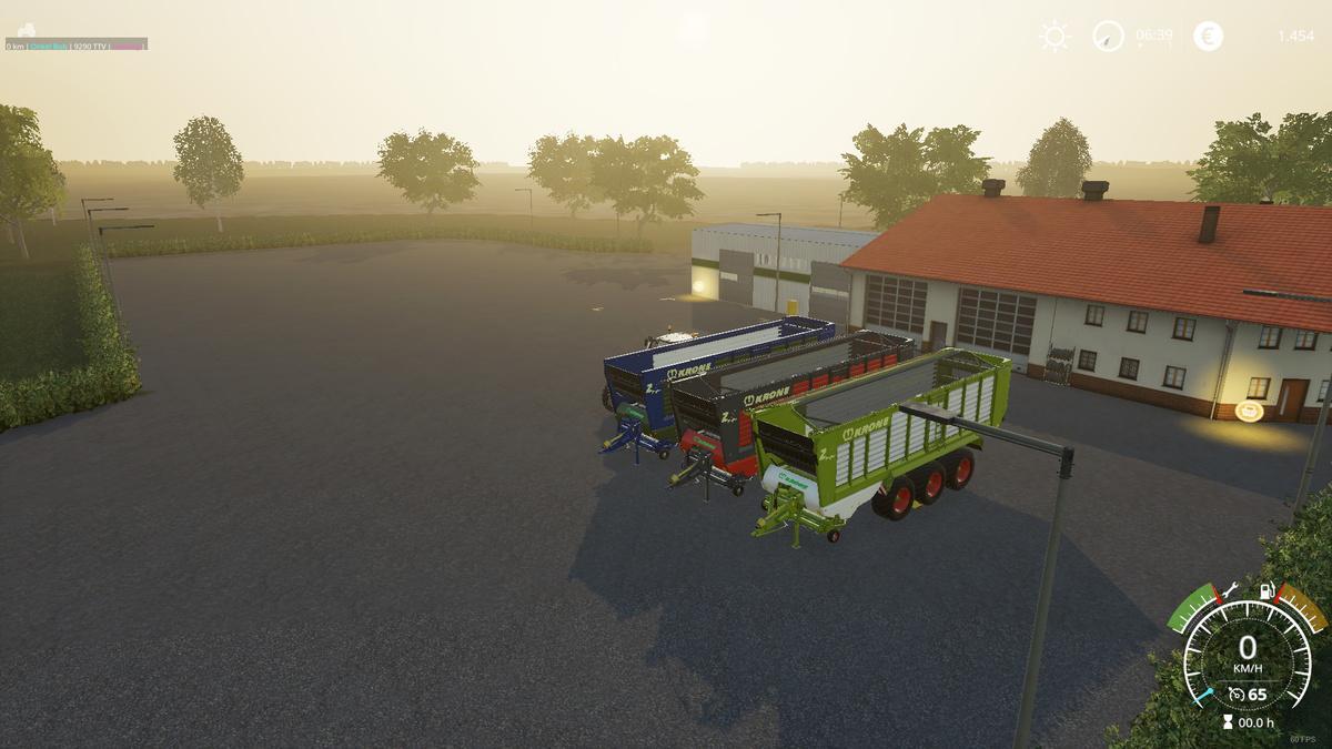 FS19 - Krone Ladewagen Bulk Trailer V1.2