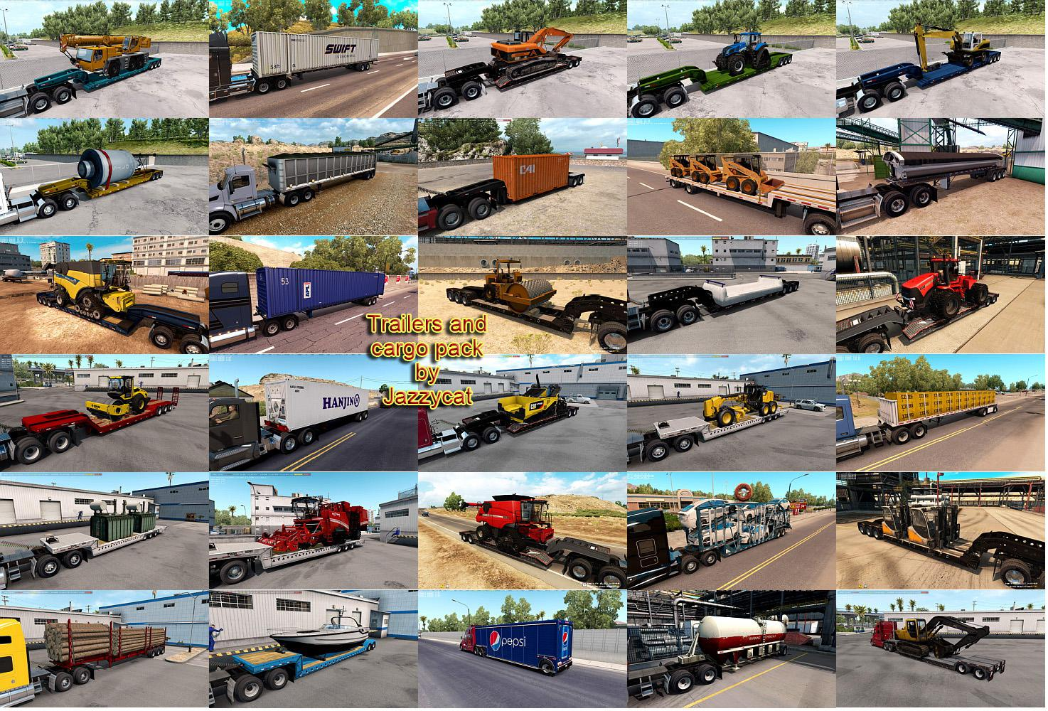 ATS - Trailers and Cargo Pack V2.9 (1.35.X)