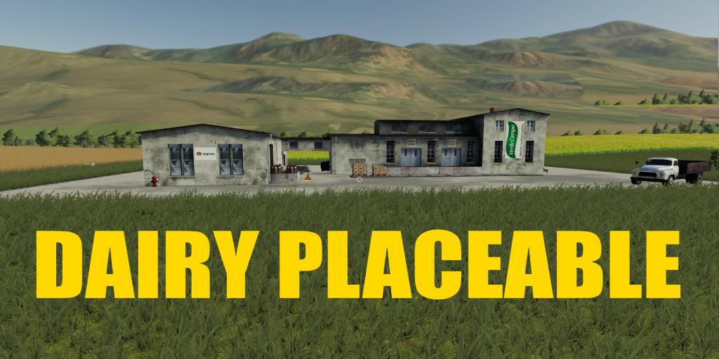 FS19 - Placeable Dairy V1.0.5