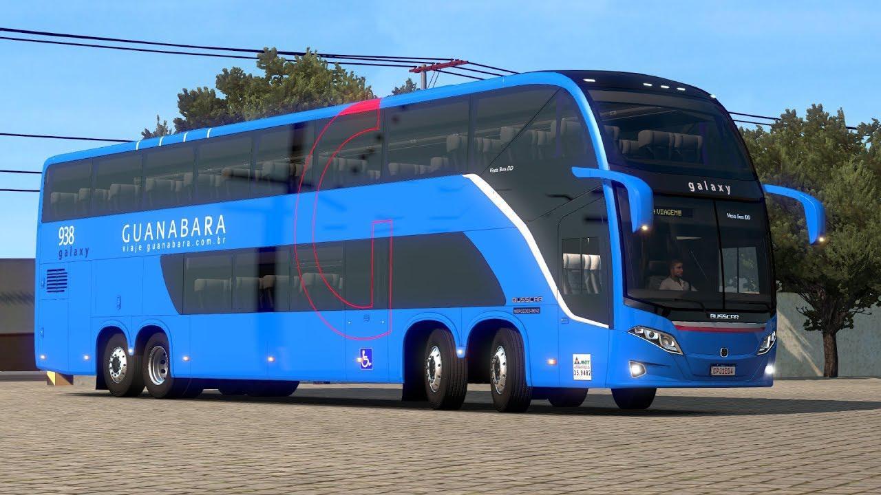 ETS2 - Busscar Vissta Buss DD 6x2 (1.39.x)
