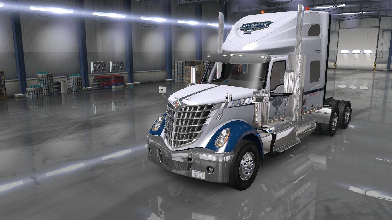 ATS - Uncle D Logistics VTC Lone Star Sky Rise Sleeper Skin (1.36.x)