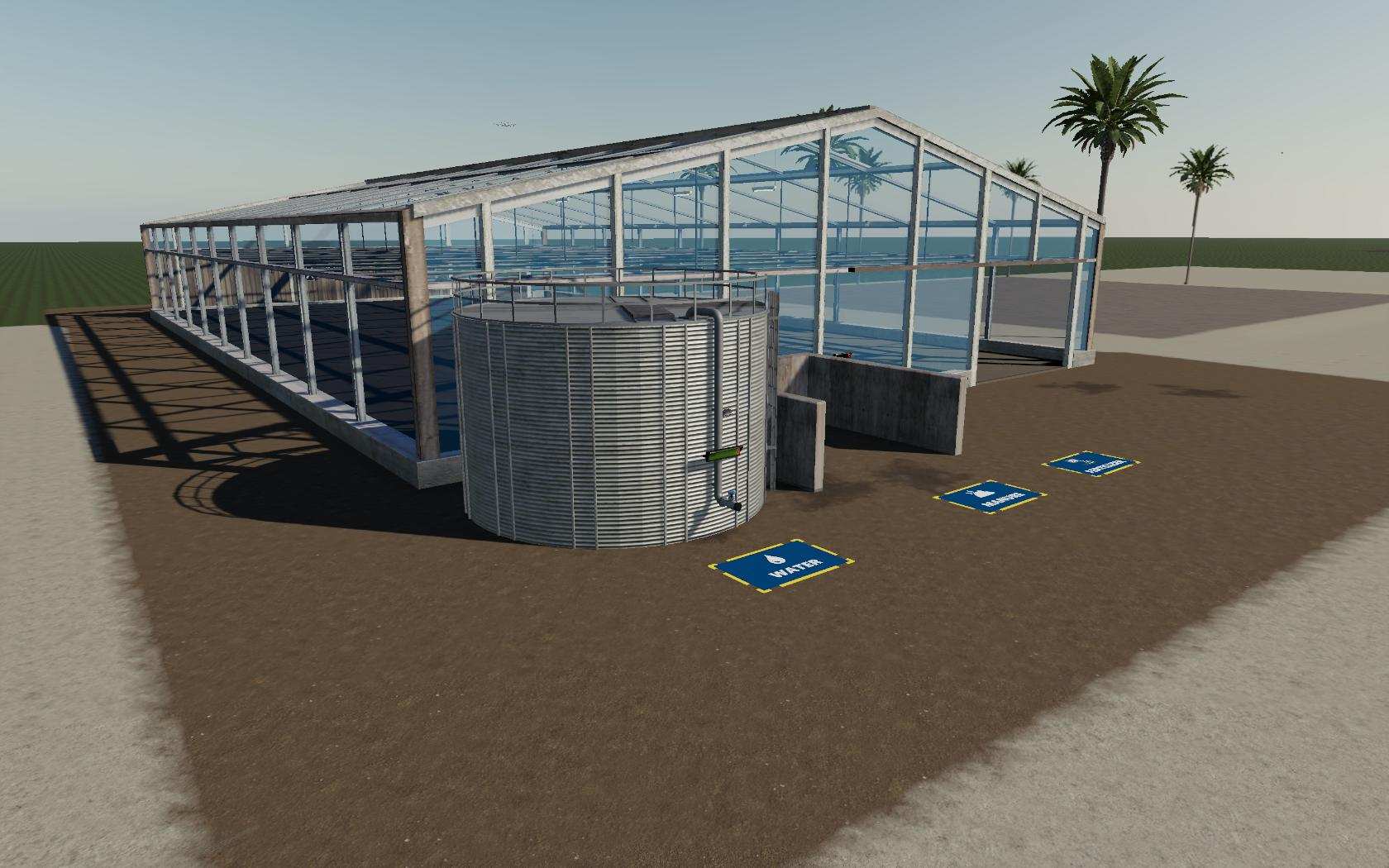 FS19 - Placeable Coffee Bean Greenhouse V1.0