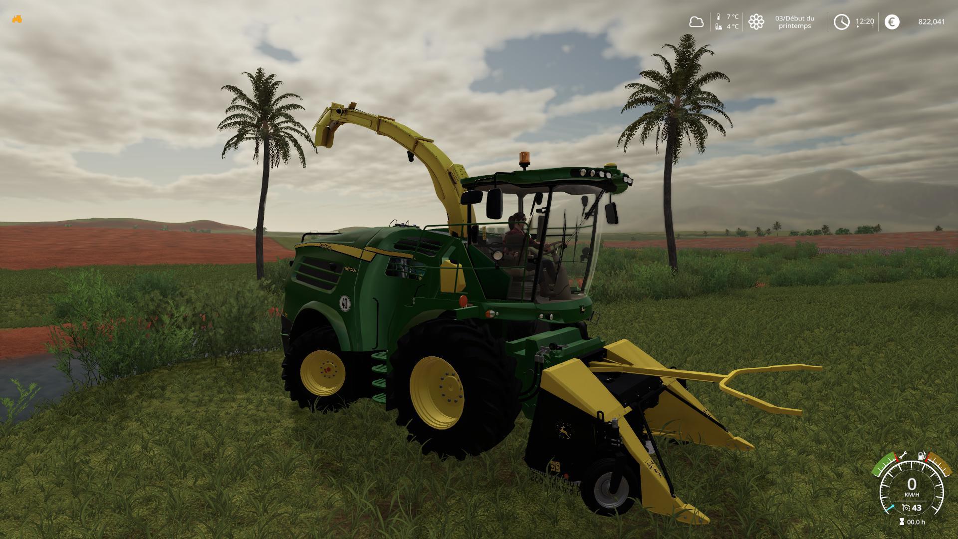 FS19 - John Deere FB130 Poplar Cutter V1 0 | Farming