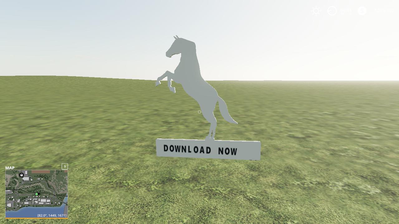 FS19 - Horse Name Plate Wip V1.0