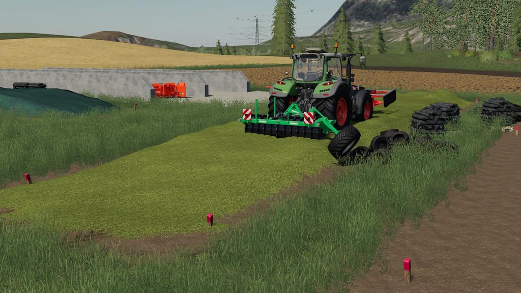 FS19 - Free Land Bunker Silo V1.0